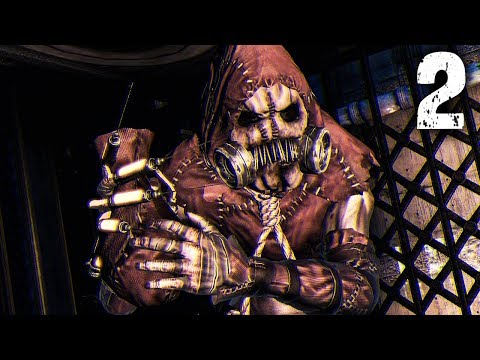 THE SCARECROW | Batman Arkham Asylum - Part 2