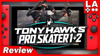 Tony Hawk's Pro Skater 1 + 2 Nintendo Switch Review (Video Game Video Review)