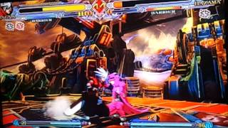 Blaz Blue cs Ragna (kytel) vs Hazama (J-Man)