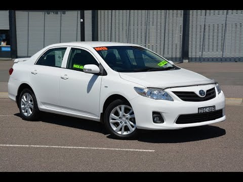 Toyota Corolla Ascent Sport Auto 2013 for sale @ Newcastle Vehicle Exchange