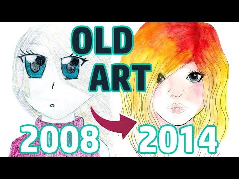 REACTING TO MY OLD ART | PART 1 | Middle School
