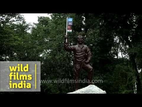 Tenzing memorial at Himalayan Mountaineering Institute -  Darjeeling