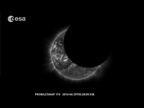 Proba-2 views partial eclipse
