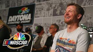Dale Earnhardt Jr. has fun with promos during NASCAR races I NASCAR I NBC Sports