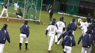 2013年オープン戦 埼玉西武ライオンズ 対 中日ドラゴンズ.