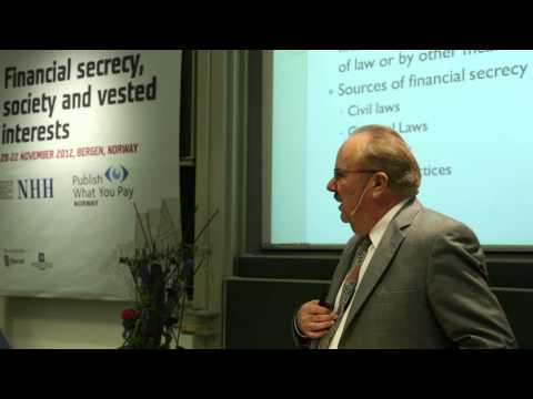 Daniel Reeves: Offshore tax havens and the financial communi