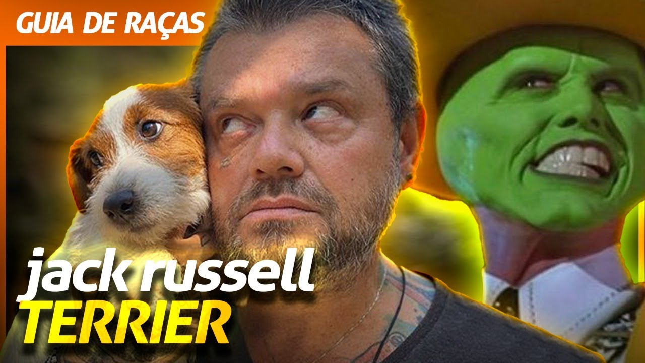 JACK RUSSELL TERRIER, O CACHORRO DO MÁSCARA! | RICHARD RASMUSSEN