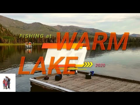 Fishing At Warm Lake
