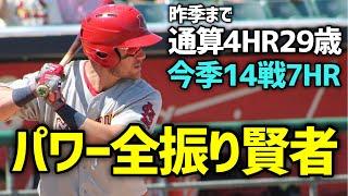 【MLB】名前と打撃スタイルがマッチしない男 パトリック・ウィズダム