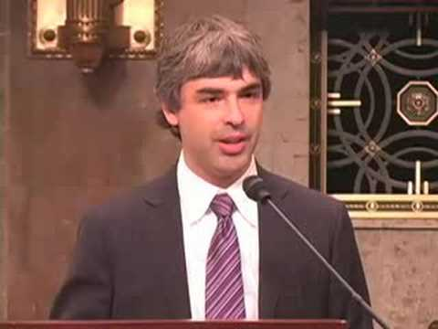 "Larry Page on Capitol Hill - ""Broadband for the Future"""