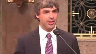 """Larry Page on Capitol Hill - """"Broadband for the Future"""""""
