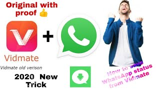 How to save WhatsApp status from Vidmate | save WhatsApp status from Vidmate | WhatsApp status | Np