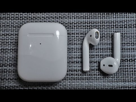 AirPods 2. Распаковка. Обзор. Тестирование с iPhone, iPad, Macbook