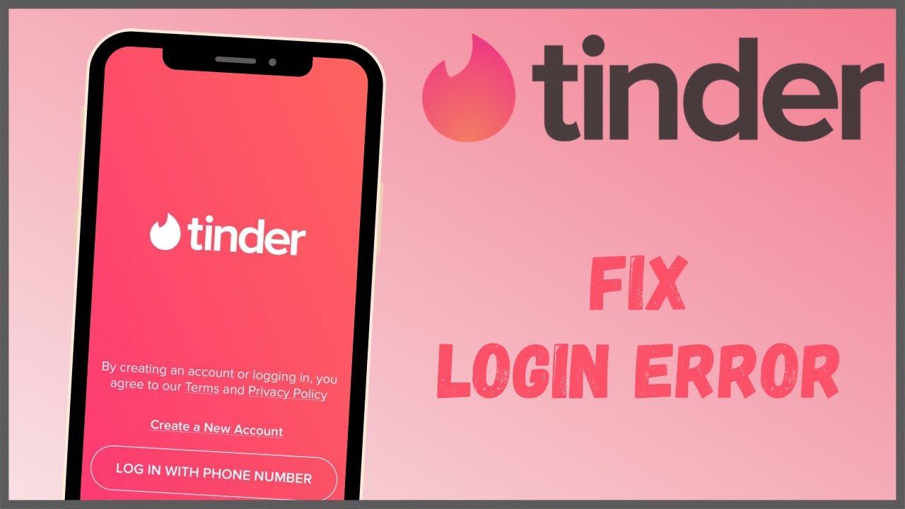 Tinder app keeps flashing logo