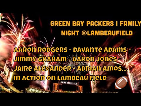 green-bay-packers-family-night-@lambeaufield-all-highlights-nfl100