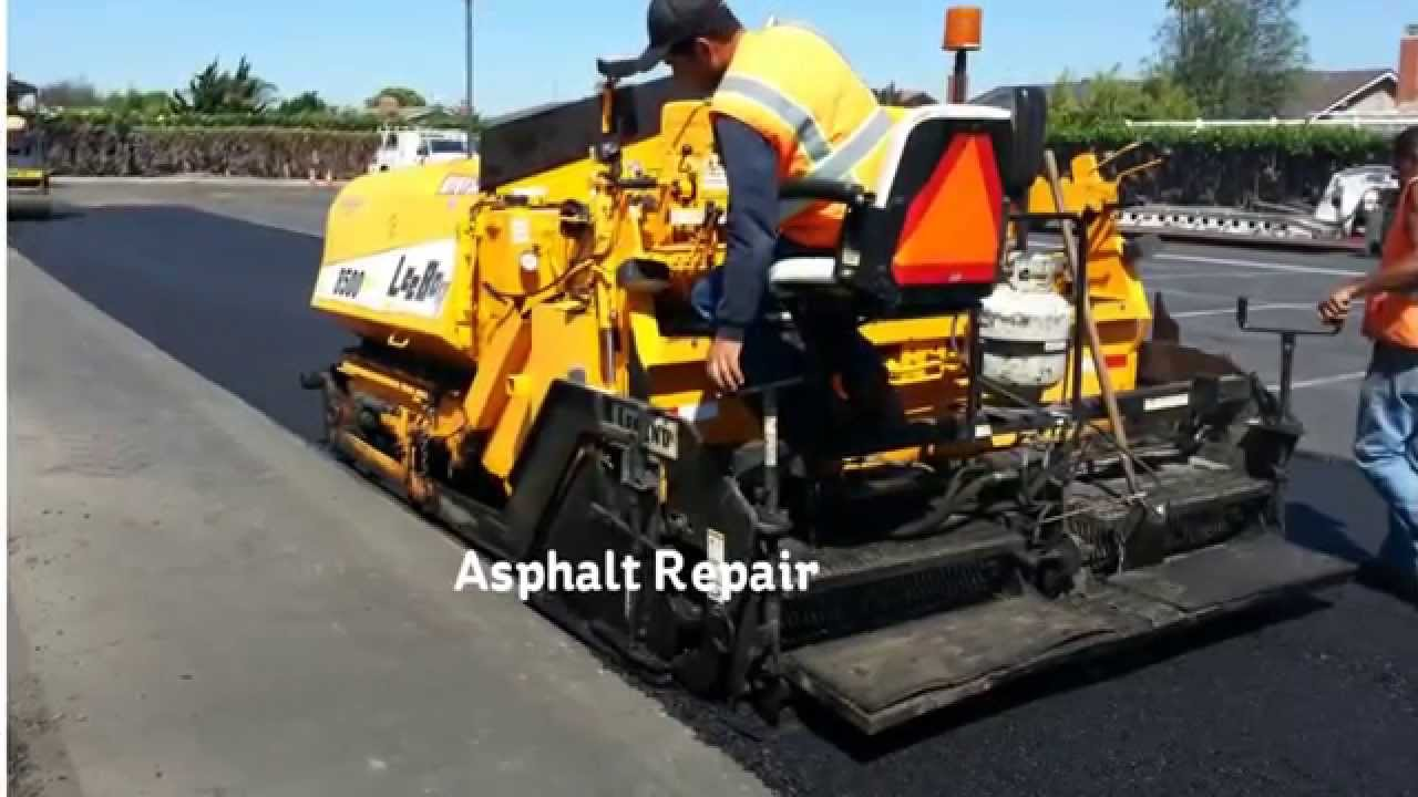 Southern California Asphalt Repair Company Empire Parking Lot Services