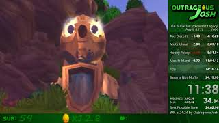 Jak and Daxter Any% Speedrun in 24:18