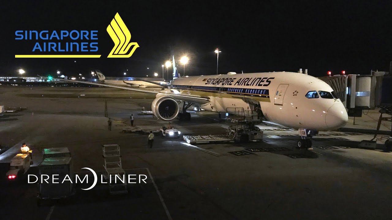 Singapore Airlines Boeing 787-10 Dreamliner Flight Experience ...