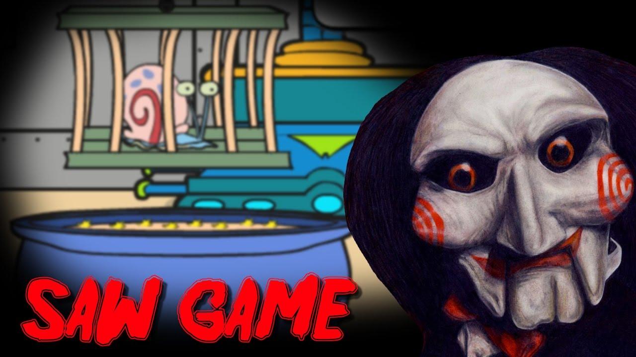 Secuestraron A Gary Bob Esponja Saw Game Youtube