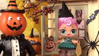 Poupées LOL Surprise Dolls Halloween Histoires de Poupées