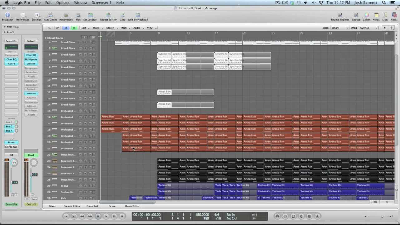 how to make music in logic pro 9