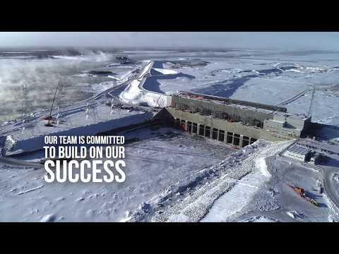 Keeyask 2019 construction season  - video