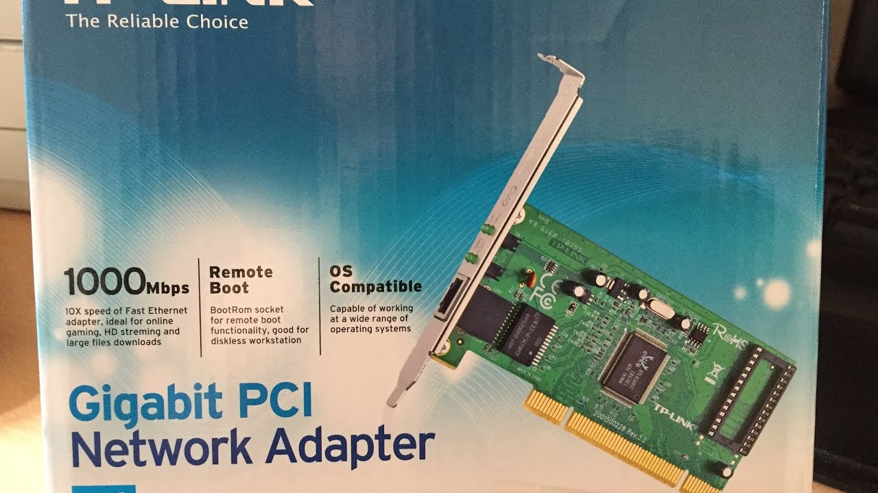 Tp Link Gigabit 1gbps 1000mbps Pci Network Adapter Tg 3269 3468 Express Unboxing And Review