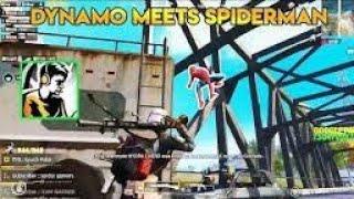 Dynamo Meets Spiderman Patt say Head shot