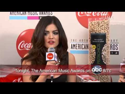 Lance Bass And Eden Sher Interview Lucy Hale Coca Cola