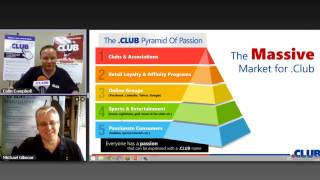 Colin Campbell from .club Webinar