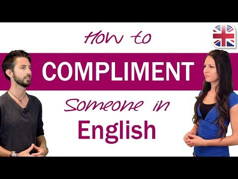 How to Compliment Someone in English - Spoken English Lesson