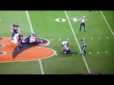 Geno Atkins crushes Deshaun Watkins on Thursday Night Football