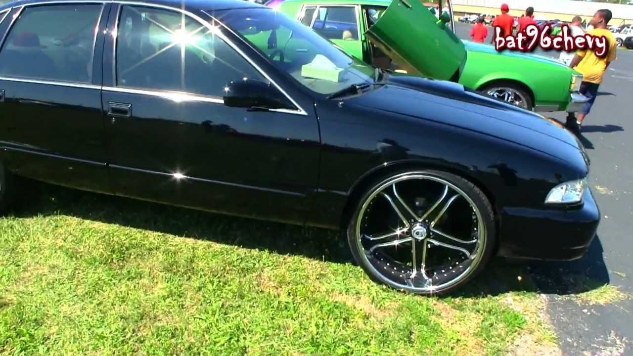 96 Black Impala Ss On 24 Quot Asantis 1080p Hd Youtube