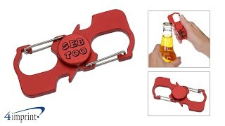Carabiner Fun Spinner with Bottle Openers - Custom Spinner by 4imprint