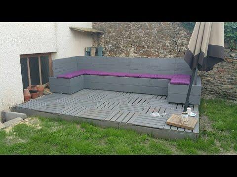 Tuto Salon De Jardin Avec Des Palettes - Décoration de maison idées ...