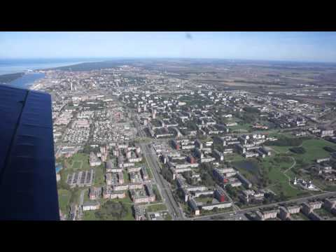 Flying Over Klaipeda & Curonian Spit with Antonov An-2, Lithuania