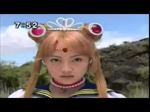 Sailor Moon+Princess Serenity VS Queen beryl Dark Kingdom