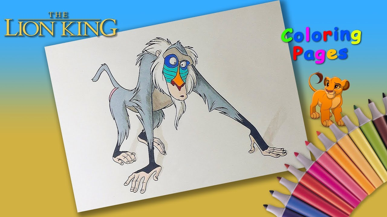 DISNEY Coloring Pages For Children