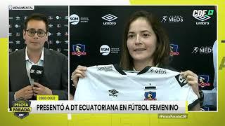 Colo Colo presentó a la entrenadora Vanessa Arauz, quien asumirá el equipo femenino