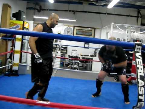light training day Mark Yehia & Danny Aziz