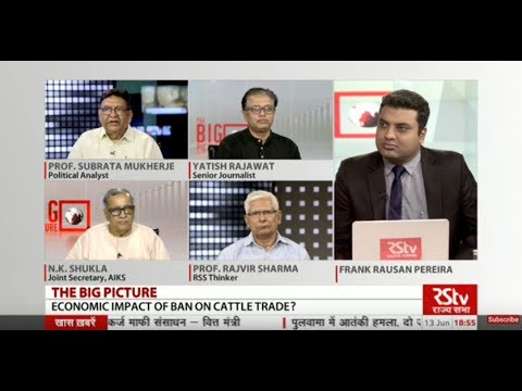 The Big Picture - Can India Afford Stoppage of All Cattle Trade?