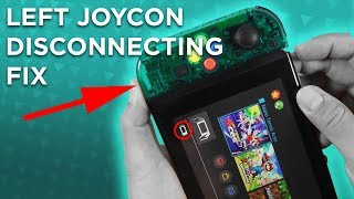 Nintendo Switch LEFT JOYCON DISCONNECTING ? Here's how to fix it