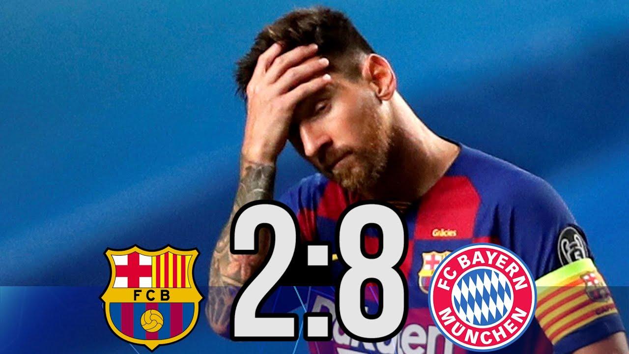 Bavariya Barselona 8 2 1 4 Finala Ligi Chempionov Obzor Pressy Mnenie Smi O Matche Sport Ekspress