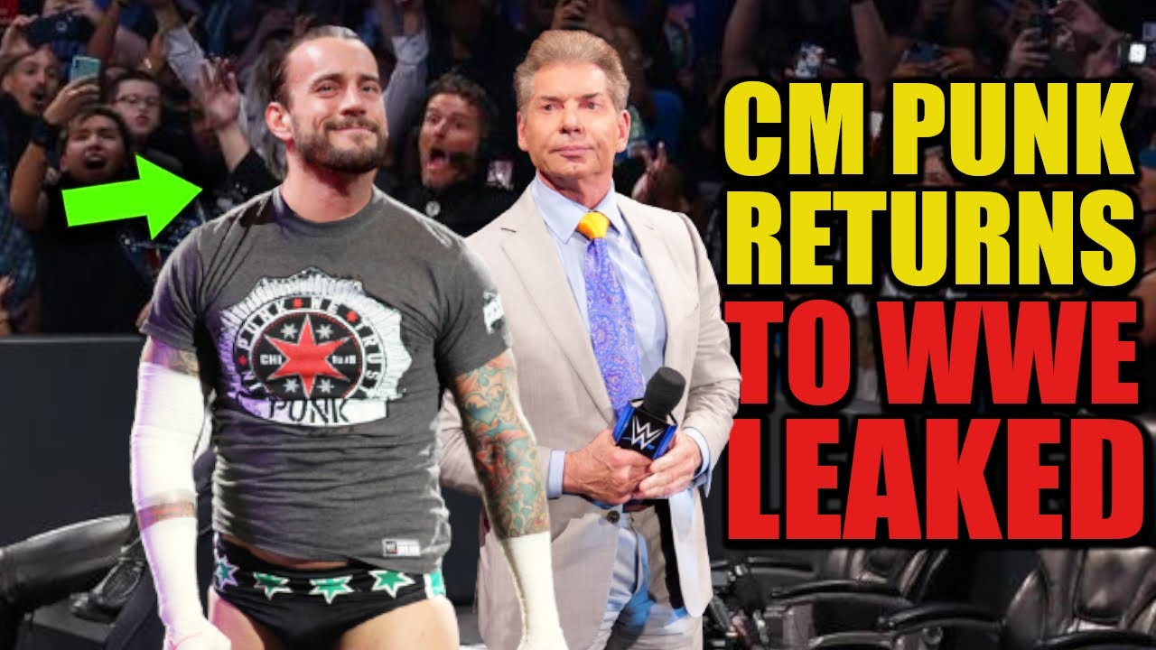 CM Punk RETURNS To WWE In 2021 After Secretly Signing New Contract With Vince McMahon LEAKED!