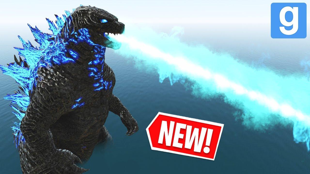 Download GODZILLA 2021 ⚠� NEW EXTREME NEXTBOT! (Garry's Mod Sandbox)   JustJoeKing