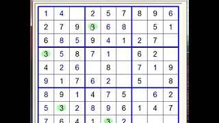 Sudoku 9x9. Level - Very Easy 11