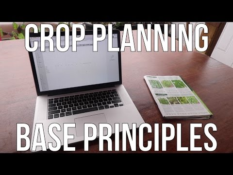 Crop Planning Base Principles