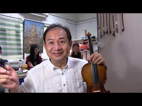 4, Violin Hand-made Factory-made, Summer Workshop Malaysia 2017