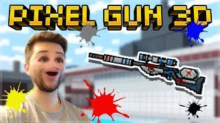THIS IS THE WORST SNIPER IN THE GAME! PAINTBALL RIFLE!   Pixel Gun 3D