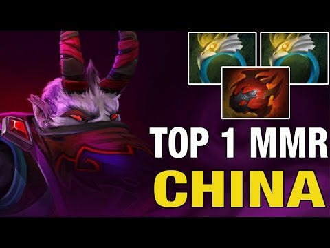 TOP 1 MMR CHINA - zhizhizhi 9326 MMR Plays Riki with double ring of aquila -Dota 2